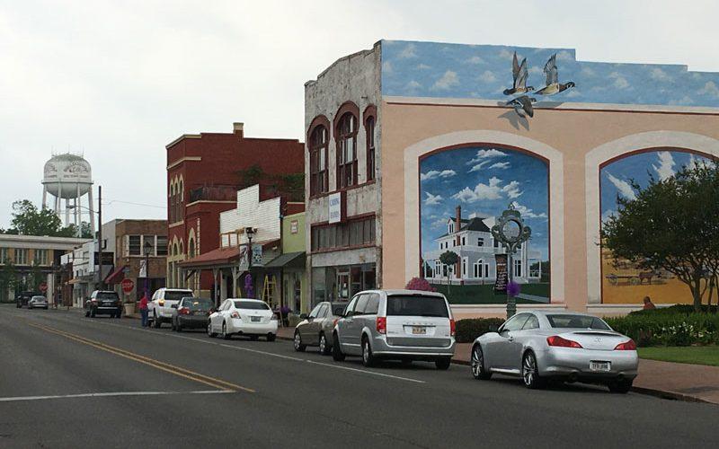 Main Street in Jennings Louisiana
